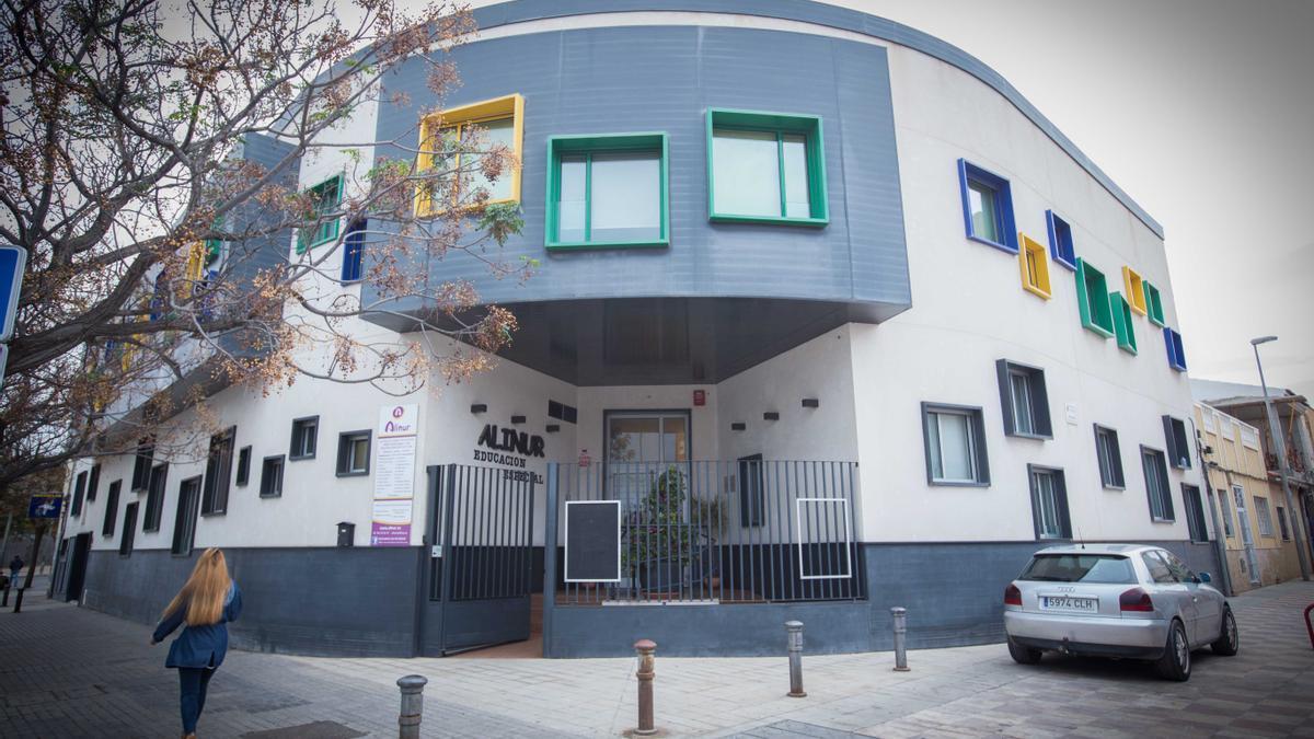 El centro Alinur en Alicante