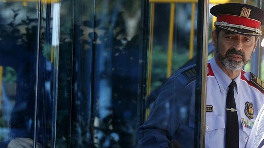 Trapero, en libertad tras declarar por sedición en la Audiencia Nacional