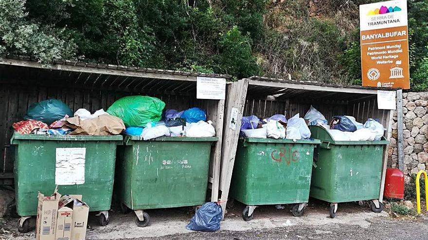Denuncian acumulación de basura y suciedad en las calles de Banyalbufar