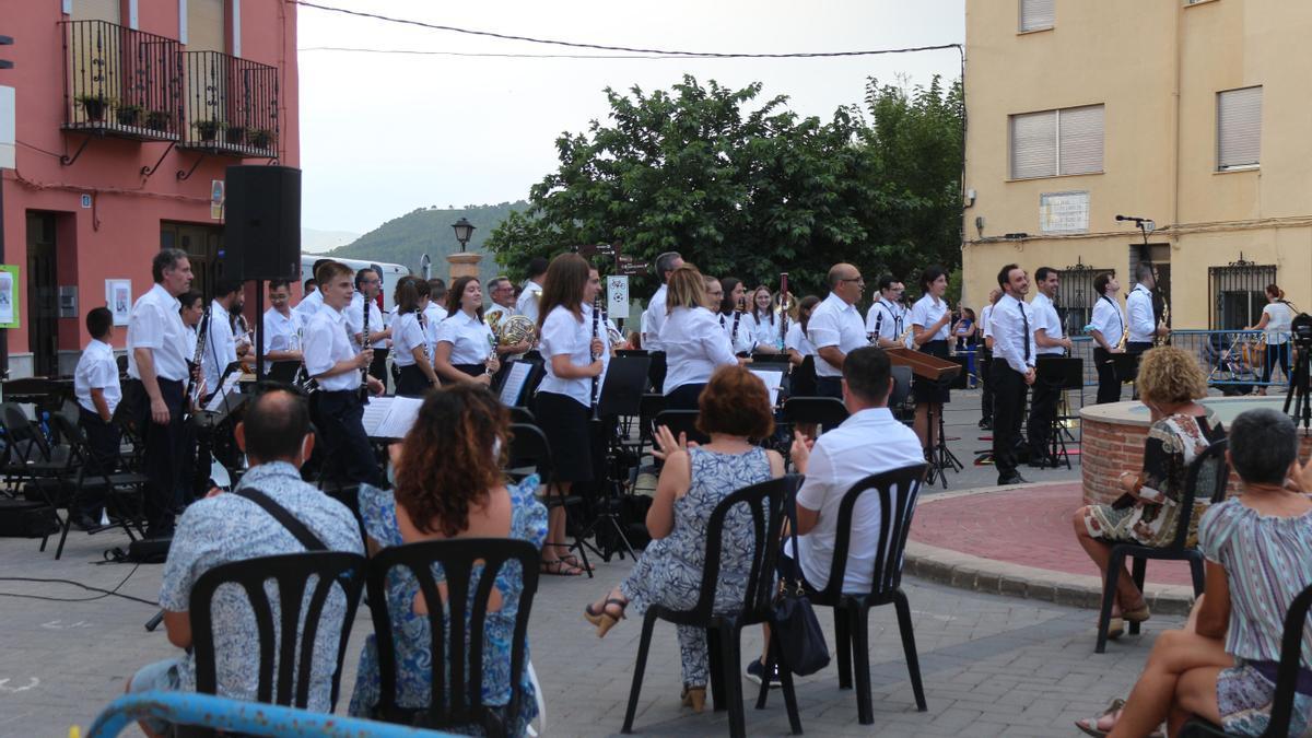 Imagen de la Sociedad Musical de Segorbe, una de las muchas que existen en la provincia de Castellón.