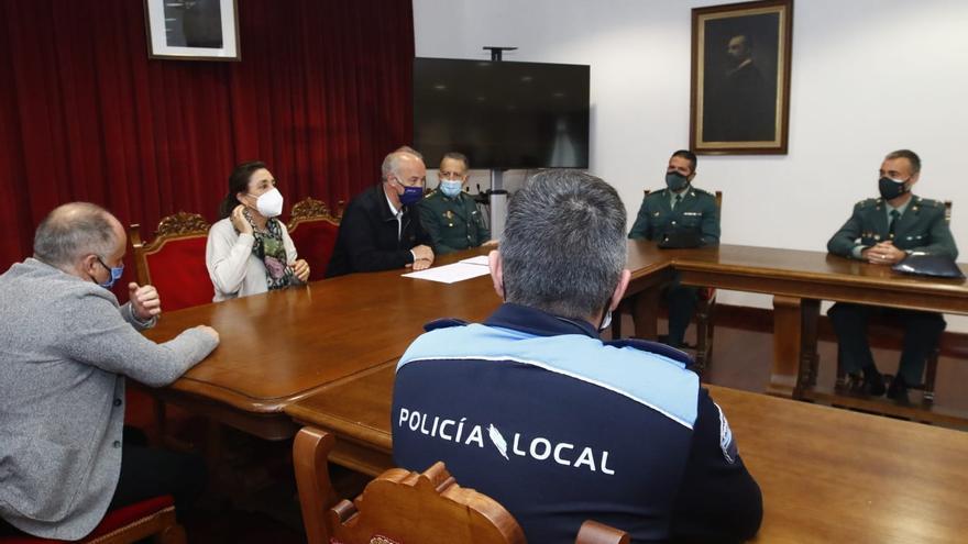 Vilanova recupera la presencia de la Guardia Civil cinco décadas después