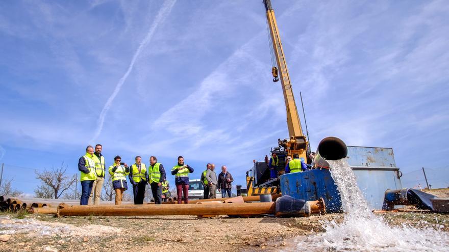 La Diputación exige a la CHJ que exima a los regantes del coste de la obra del trasvase del Júcar