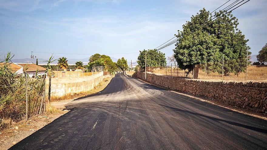 Polémica por el asfaltado del camino que da a la urbanización ilegal de Son Olivaret