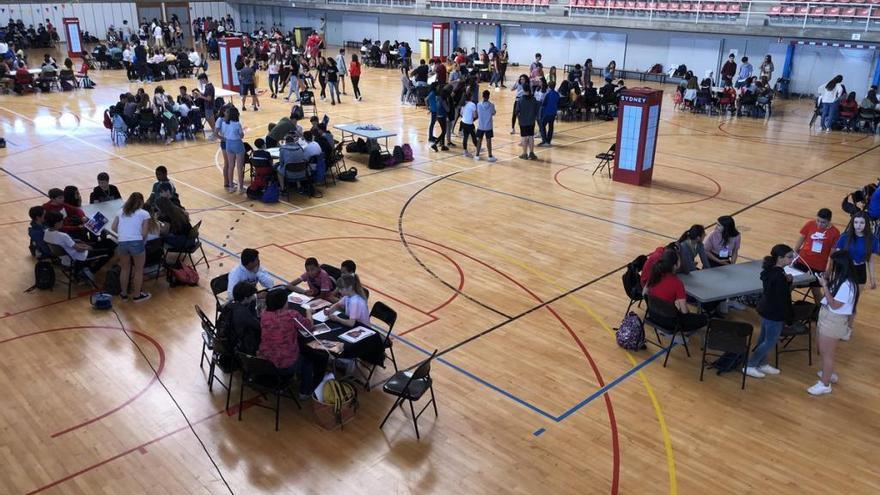 Prop de 400 alumnes de la comarca participen en la masterclass EnglishTime