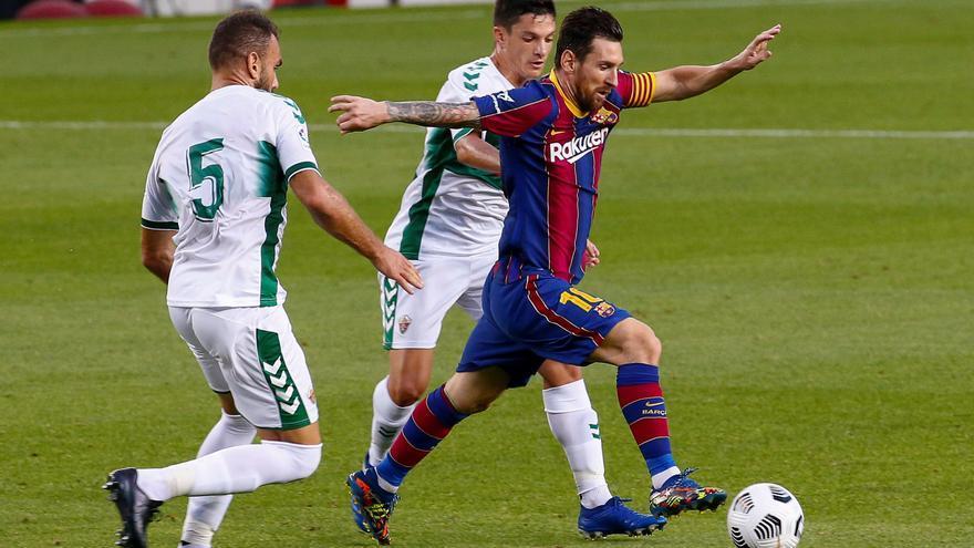 El Elche planta cara a Messi