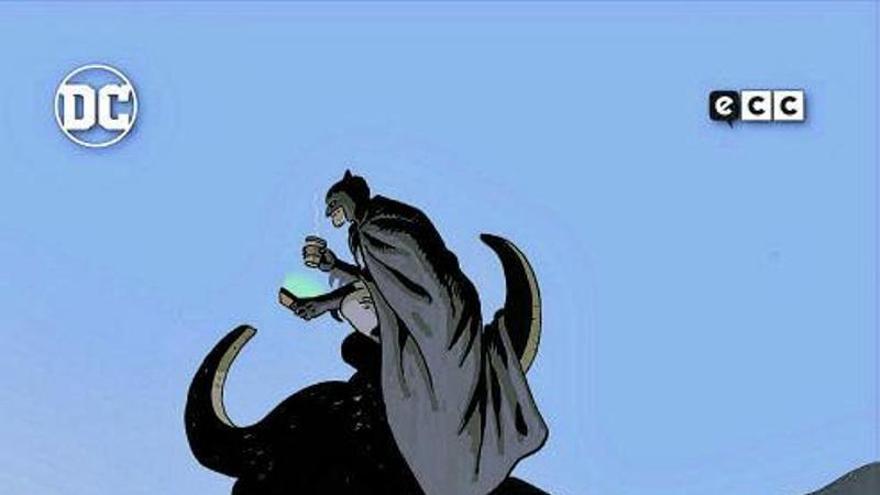 Batman se marcha a Benidorm a disfrutar de playa y paella
