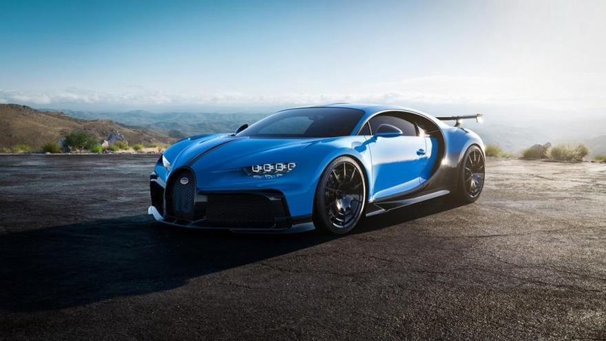 Bugatti presenta el Chiron Pur Sport, creado para ser el mejor también en curva