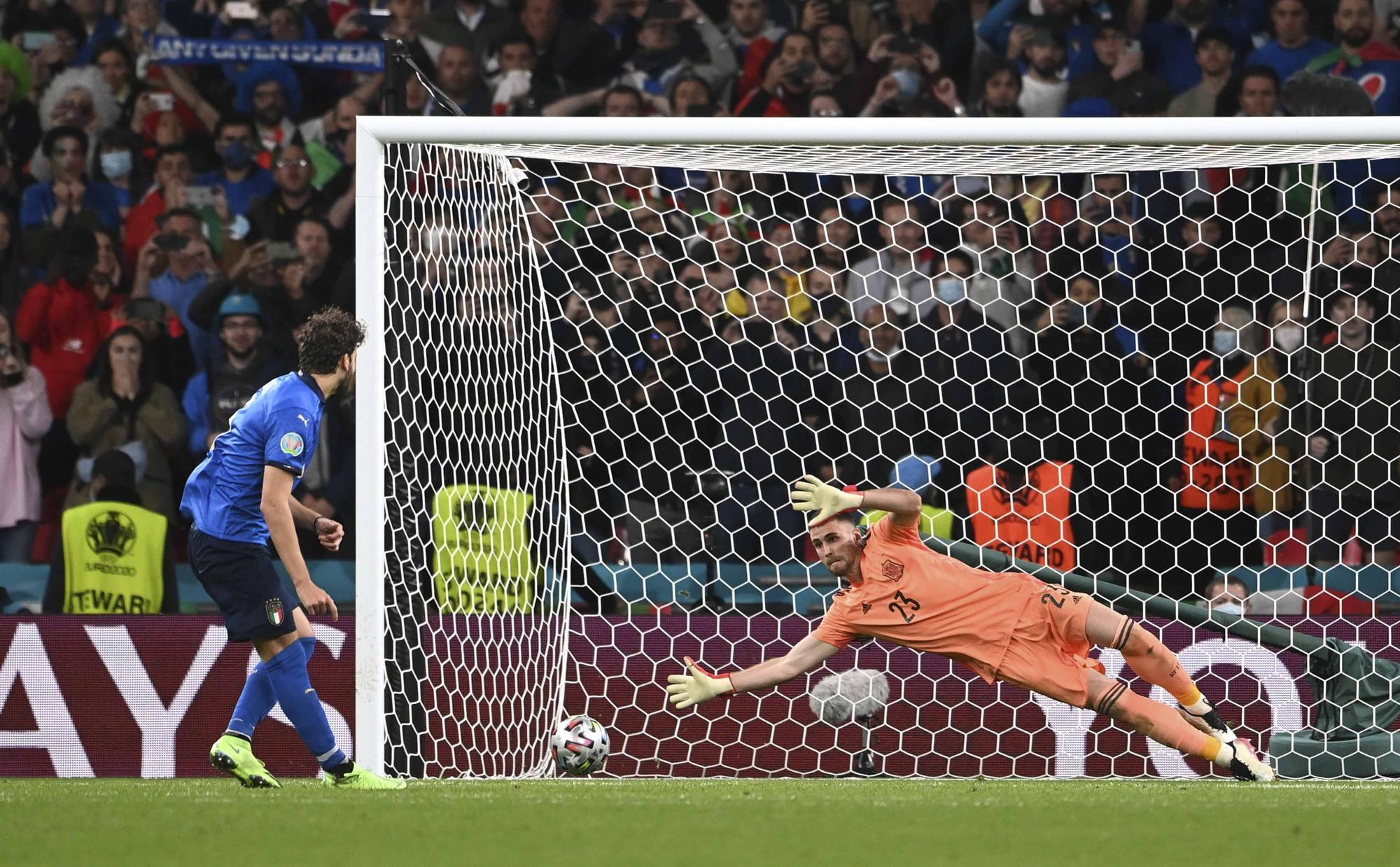 Las fotos mas espectaculares del España - Italia de semifinales de la Eurocopa
