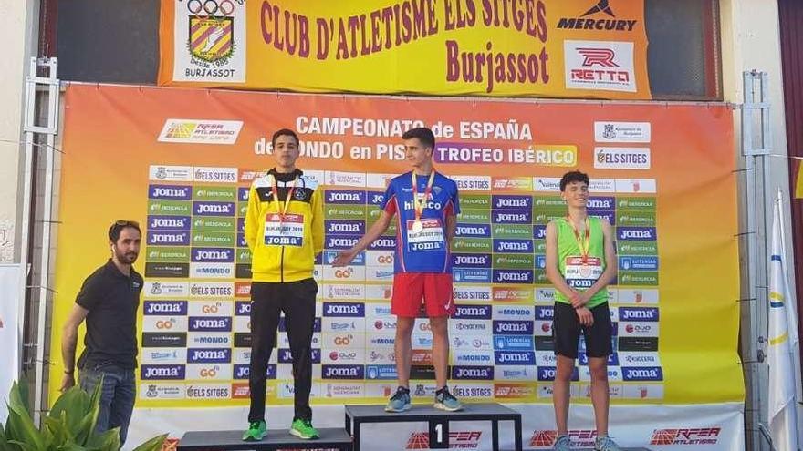 Mehdi Nabaoui, subcampeón de España en los 5.000 metros
