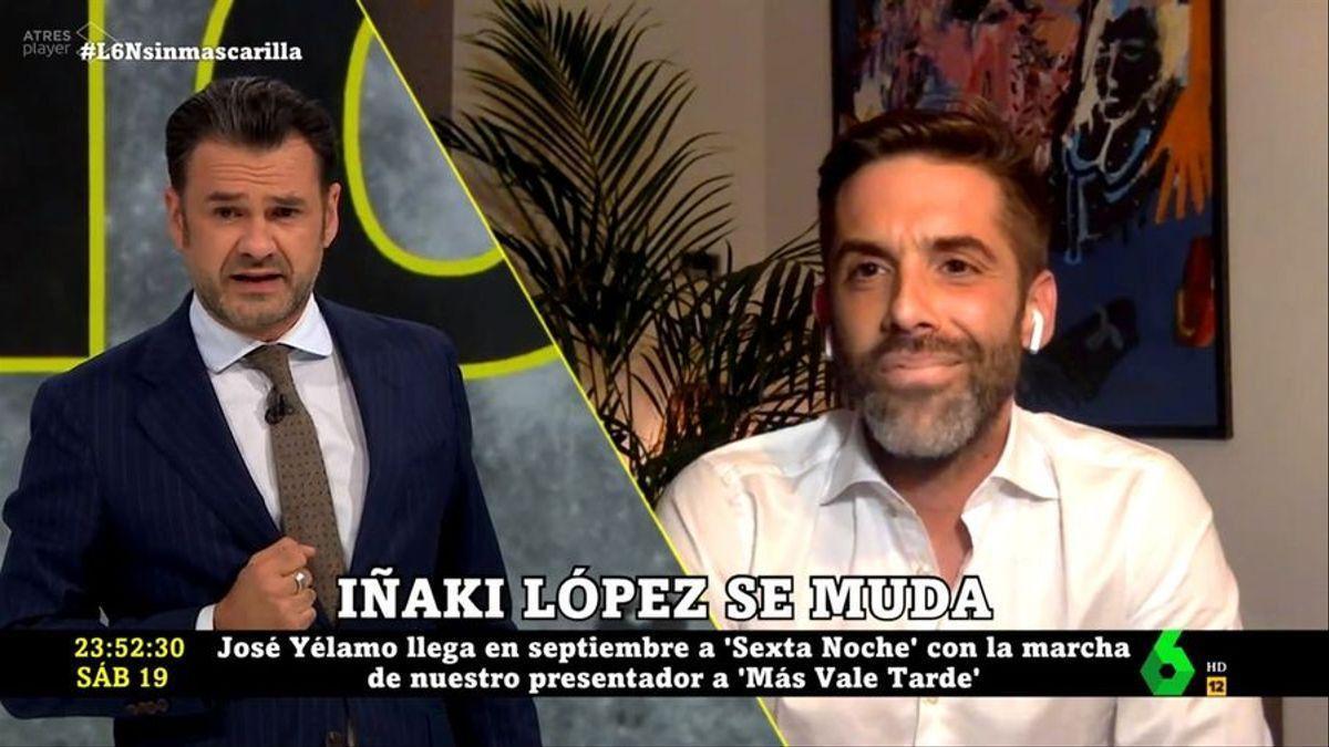 Iñaki López y José Yélamo.