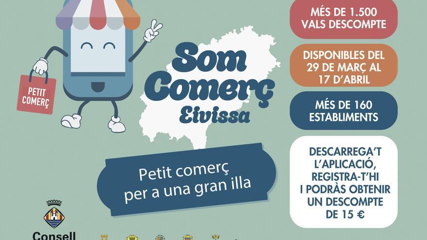 Faceu ús del vostre val descompte de 'Som Comerç Eivissa' abans del 18 d'abril!