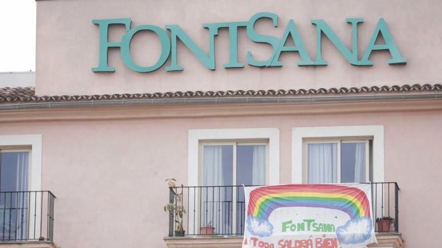 Salud interviene la residencia de mayores Fontsana de Palma por un brote de COVID con 20 positivos
