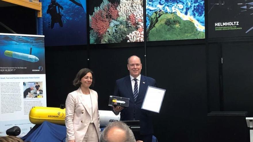 Un institut alemany líder en recerca marina compra tecnologia robòtica gironina