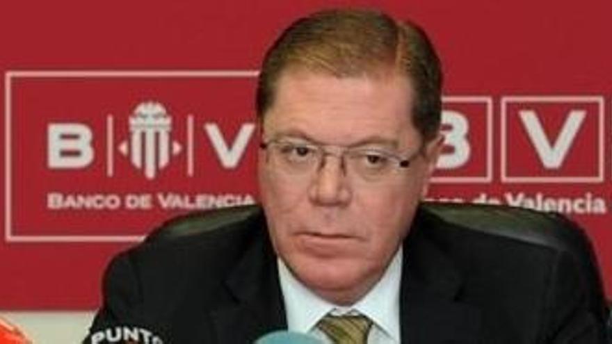 Primera condena a Parra por su gestión al frente del Banco de Valencia