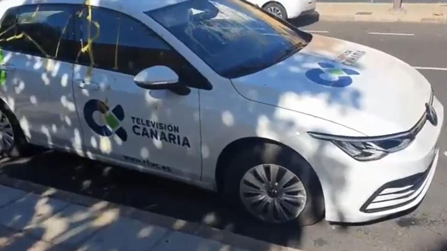 Agreden a periodistas de la Televisión Canaria al informar de una operación antidrogra