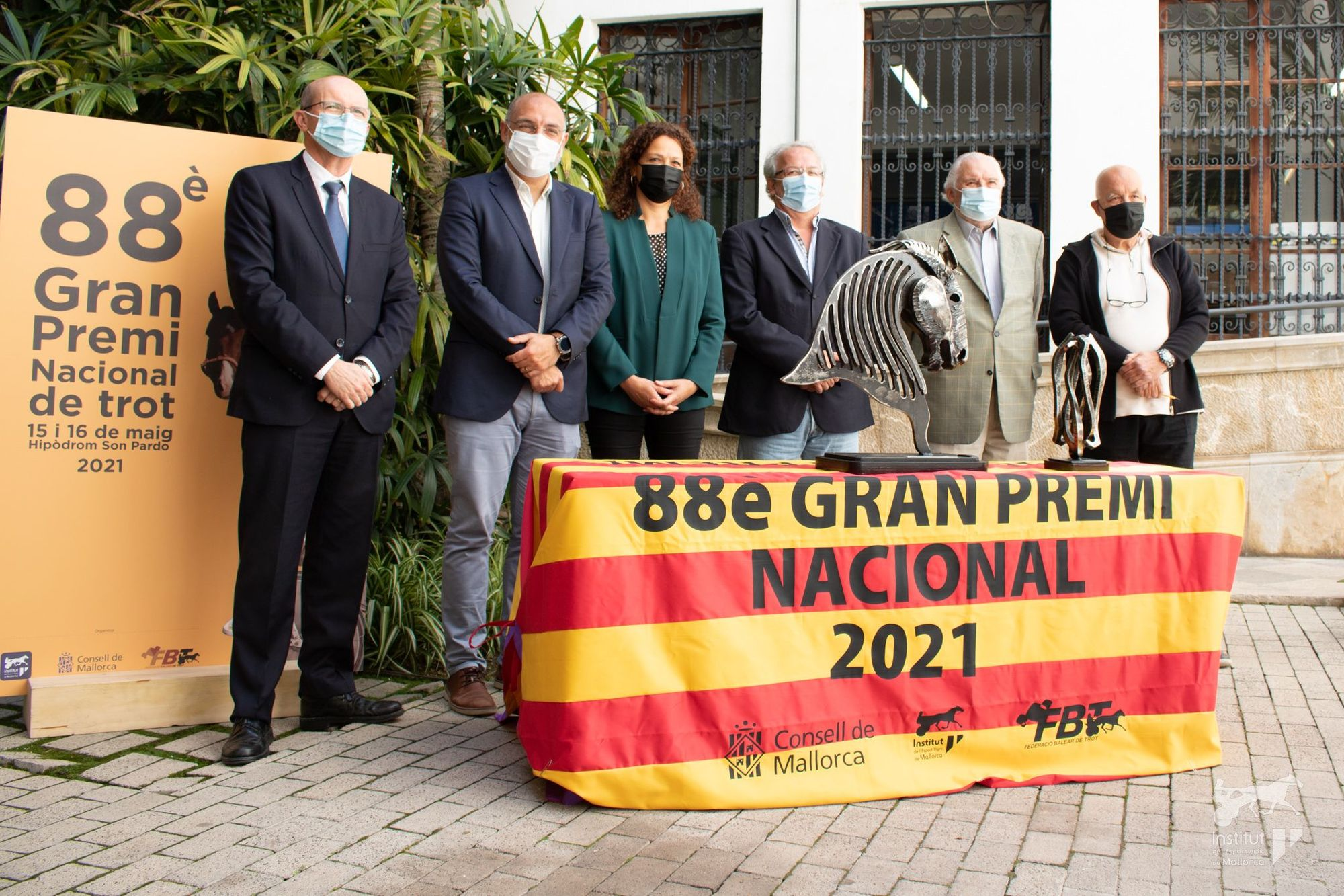 Presentación del 88è Gran Premi Nacional de Trot
