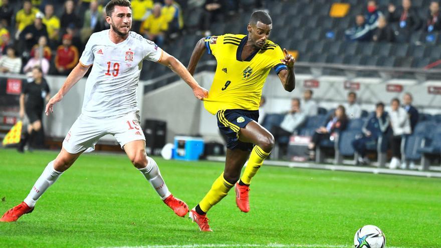 España tropieza ante Suecia y pierde el liderato del grupo