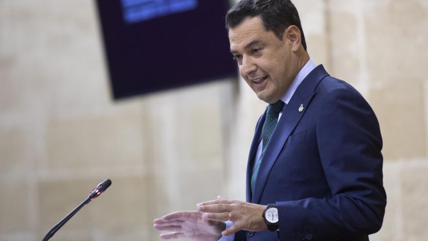 """Moreno avisa a Vox: """"Si hacen caer a mi Gobierno, la alternativa será la izquierda y además la más radical"""""""