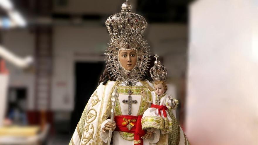 La Fuensanta permanecerá en la Catedral hasta septiembre