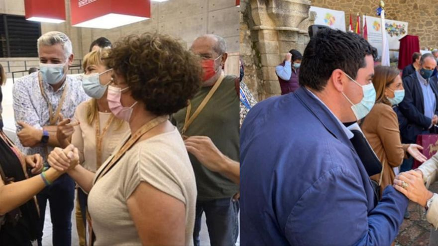 Dos alcaldes y una ministra: anverso y reverso de la moneda de Costas