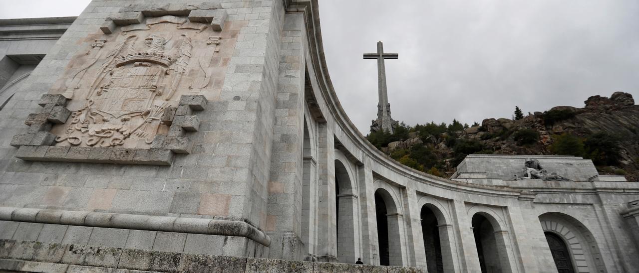 Imagen de archivo del Valle de los Caídos.