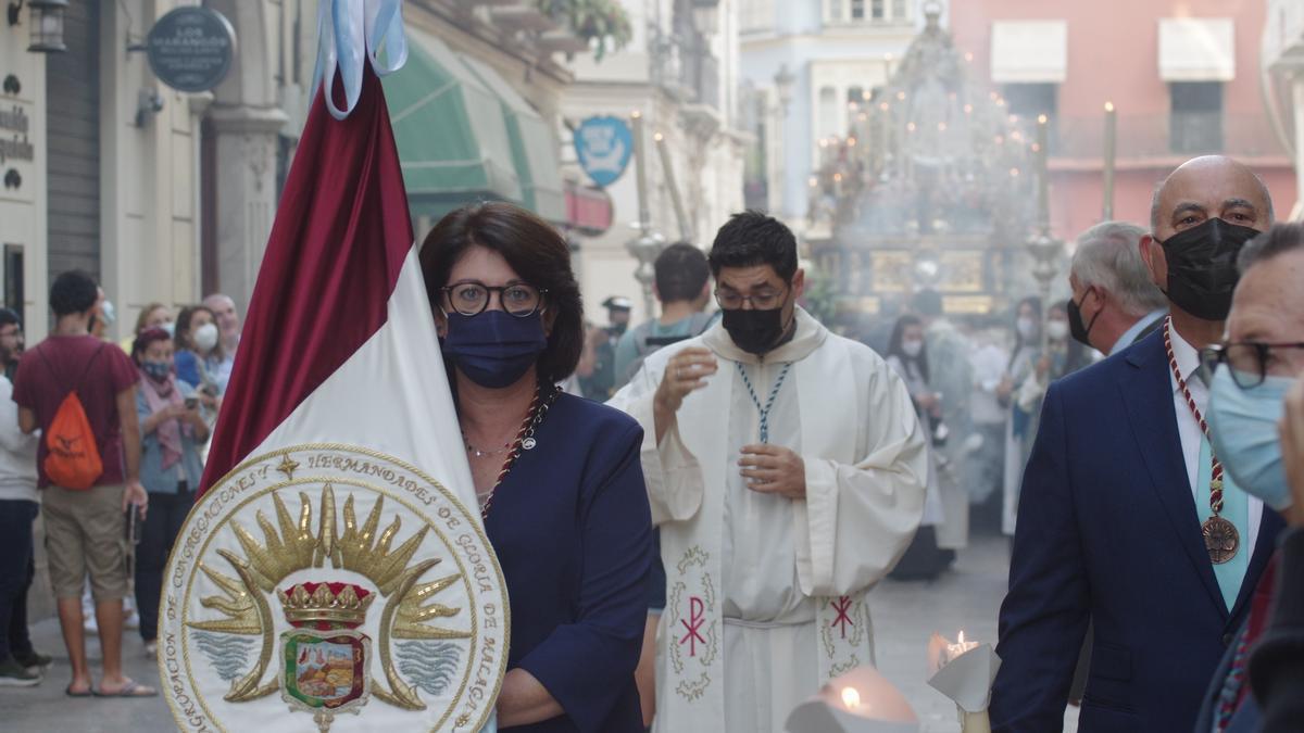 Procesión de la Virgen de Araceli y la Virgen del Amor Doloroso por el Centro