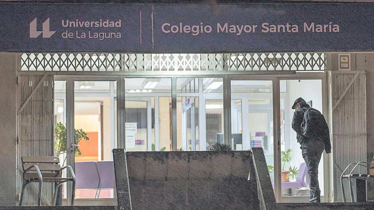 El Colegio Mayor Santa María de La Laguna durante el estado de alarma.