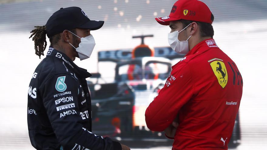 Así queda la parrilla de salida de F1 para el GP de Azerbaiyán