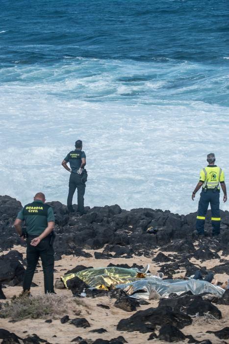 Naufragio de otra patera en Lanzarote