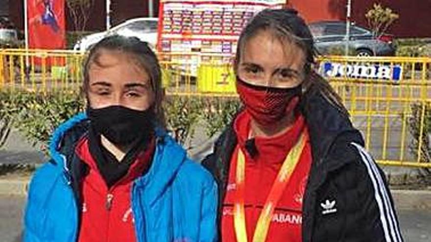 Iria Rivas, subcampeona de España de 5 kilómetros marcha en la cita de Getafe