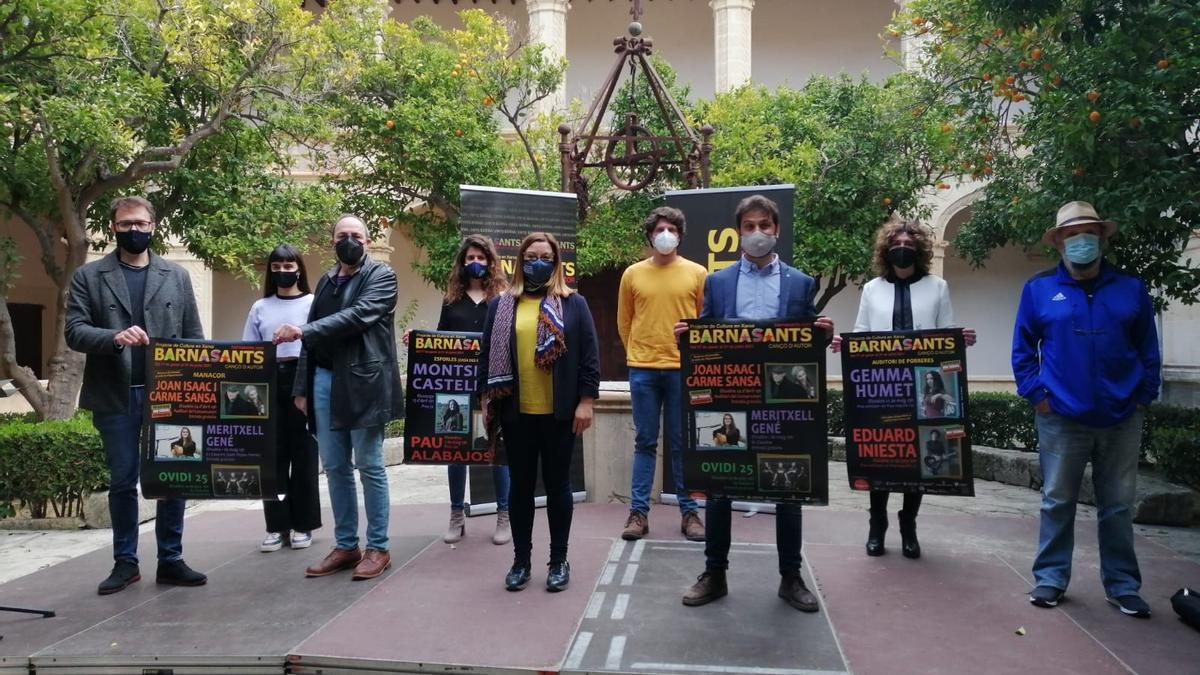 La presentación del Barnasants en Mallorca se ha celebrado en Manacor