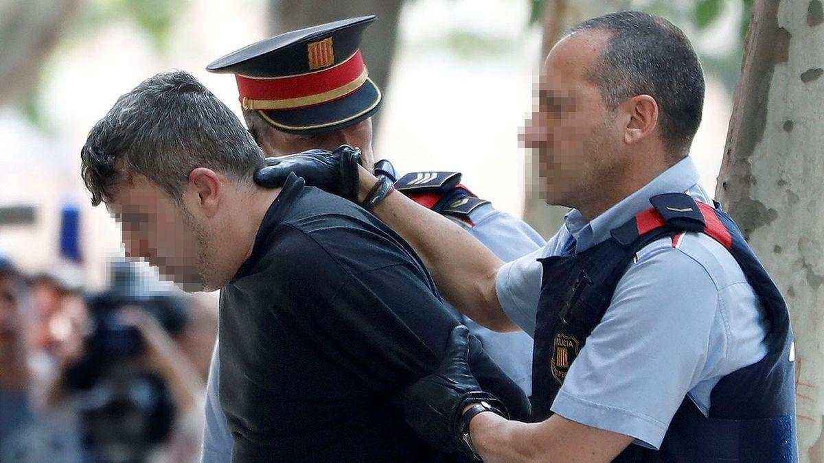 El asesino confeso de la menor de Barcelona.