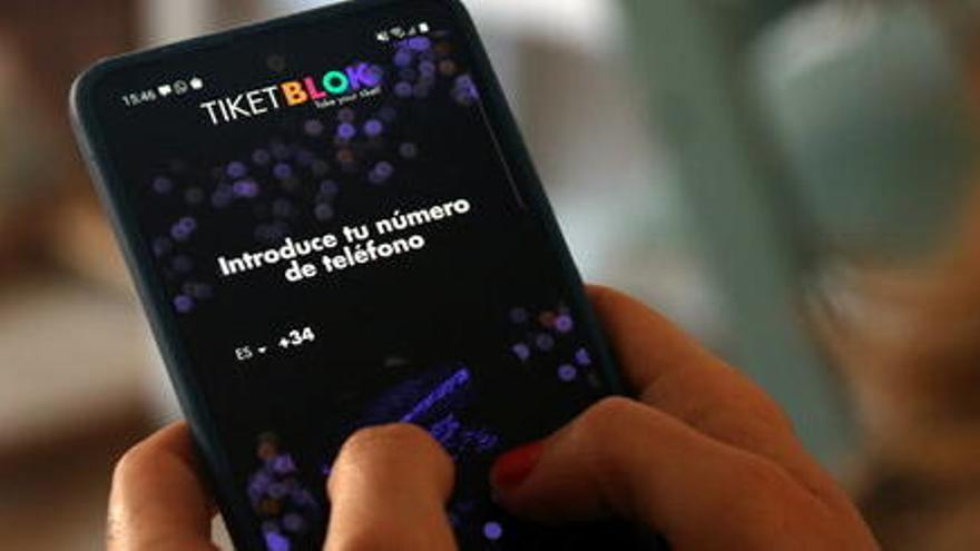 Tiketblok, l'app catalana que permetrà la reactivació de grans esdeveniments