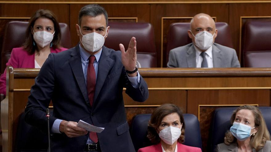 """Sánchez emplaza a ERC a aclarar sus """"planes"""" tras los indultos"""