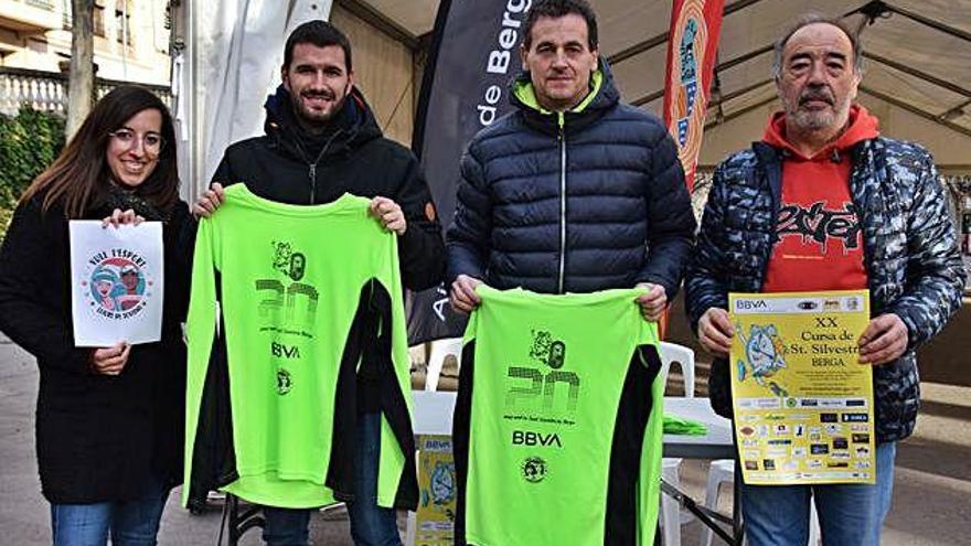 La Sant Silvestre de Berga vol repetir els mil corredors en la vintena edició