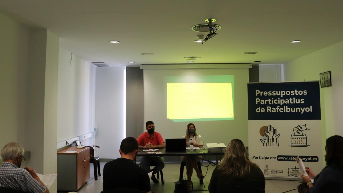 Presupuestos participativos de Rafelbunyol