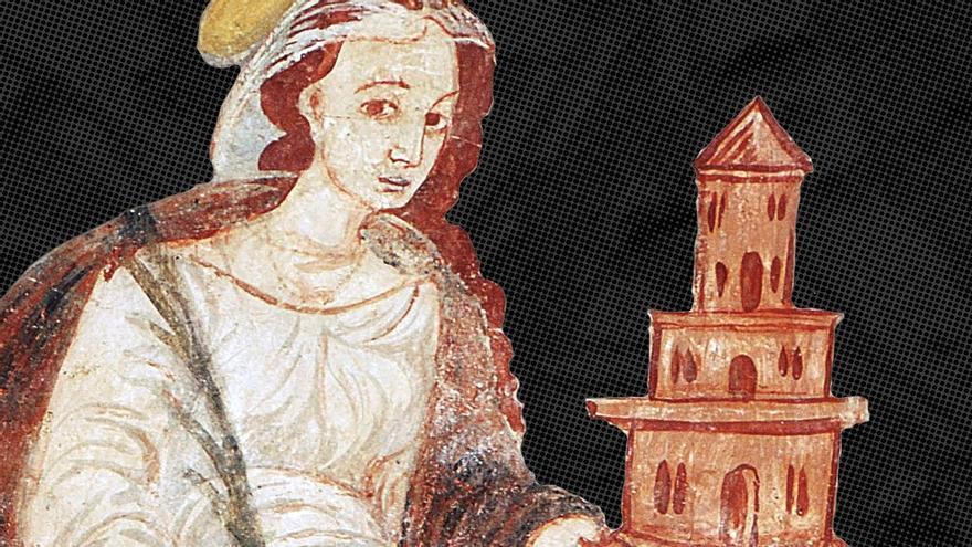 Los mejores murales del siglo XVI de los pueblos fronterizos con Salamanca y Portugal, en el Museo de Zamora