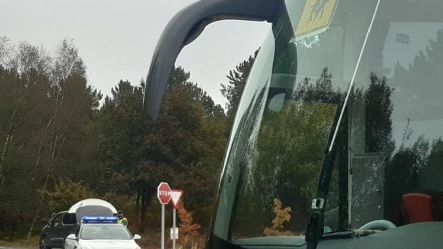 Un conductor de autobús escolar da positivo en cocaína en Ourense
