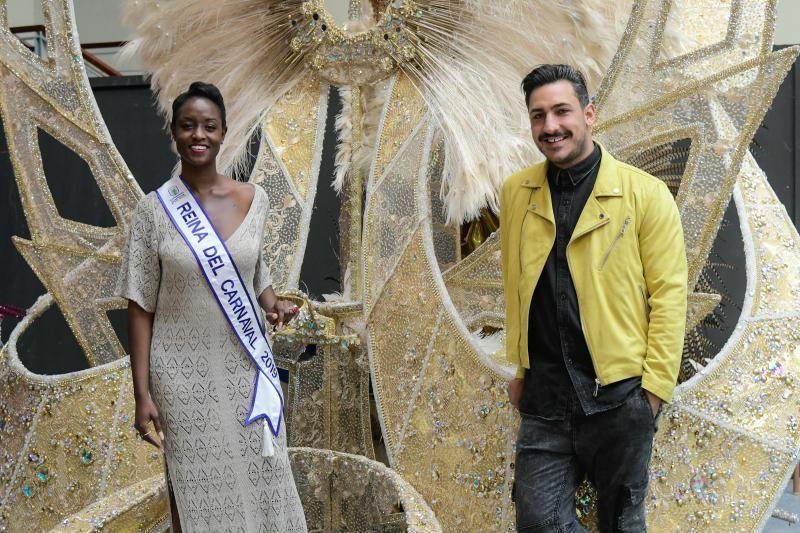 Erika Echuaca Sebe, reina del Carnaval de Las Palmas de Gran Canaria 2019
