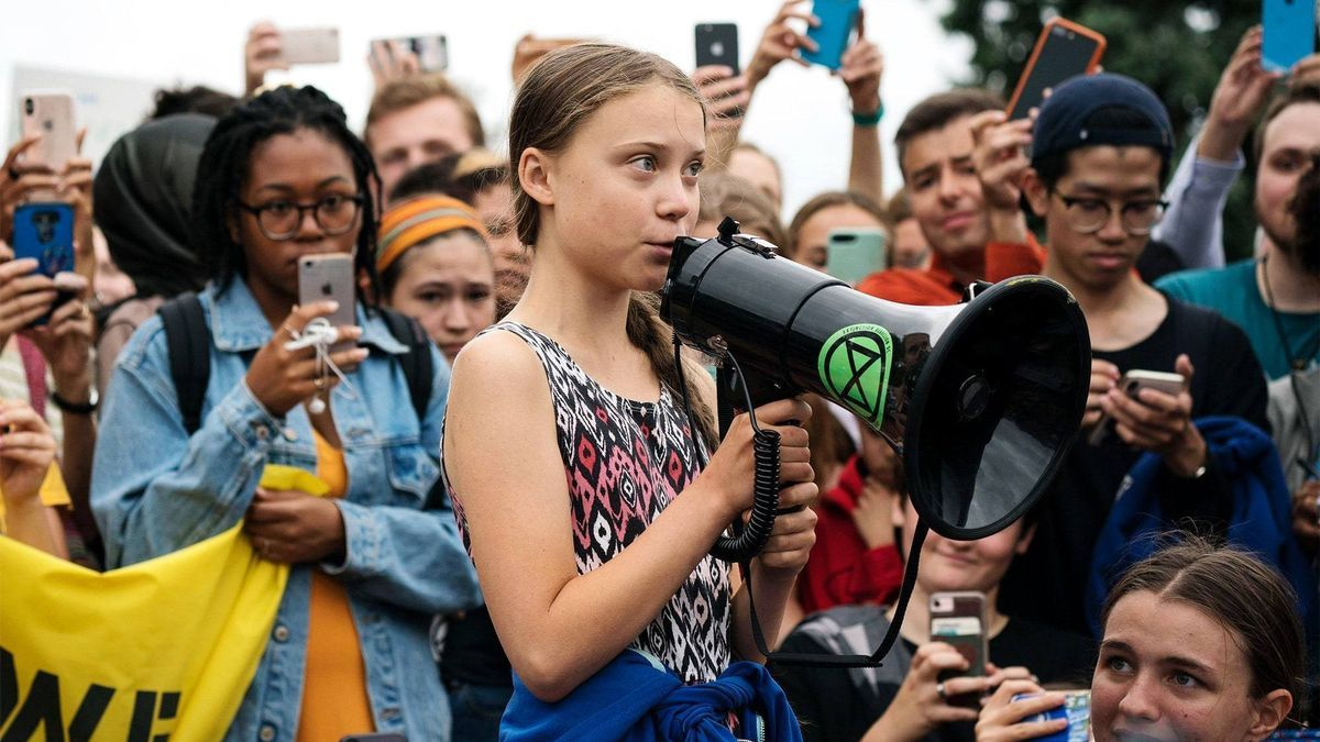 """Una imatge del documental """"I amb Greta""""."""