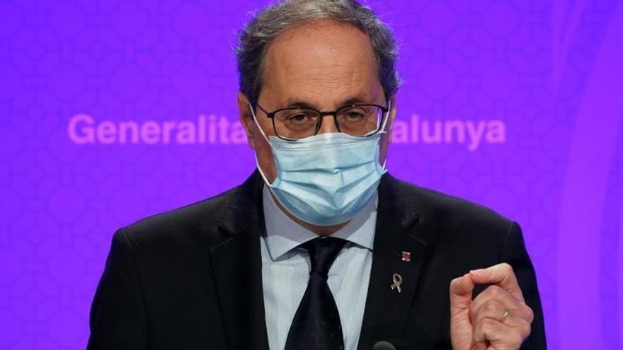 Torra confirma a Sánchez que no acudirá a la conferencia de presidentes en La Rioja
