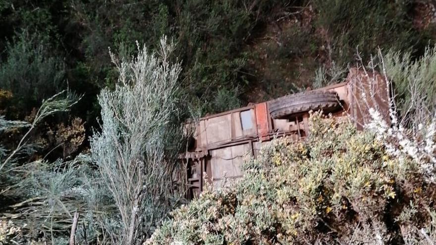 Consternación en Tola por el fallecimiento de un vecino en un accidente de tractor