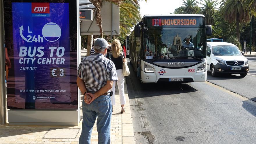 La EMT aumenta los servicios de once líneas de autobús a partir de hoy