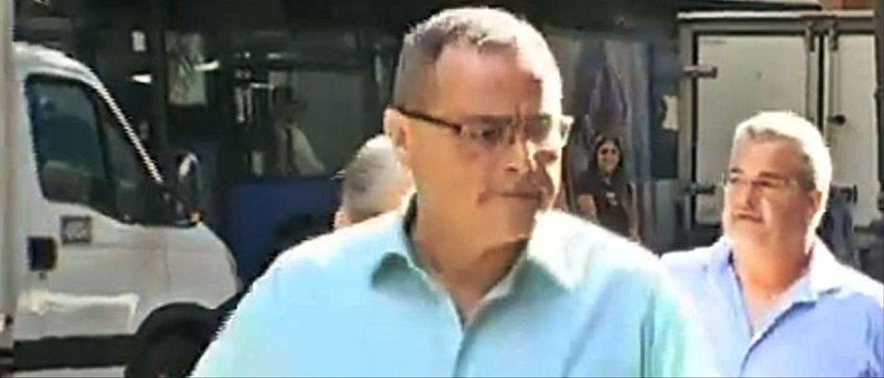 Rafel Puigrós, el día que fue juzgado en la Audiencia