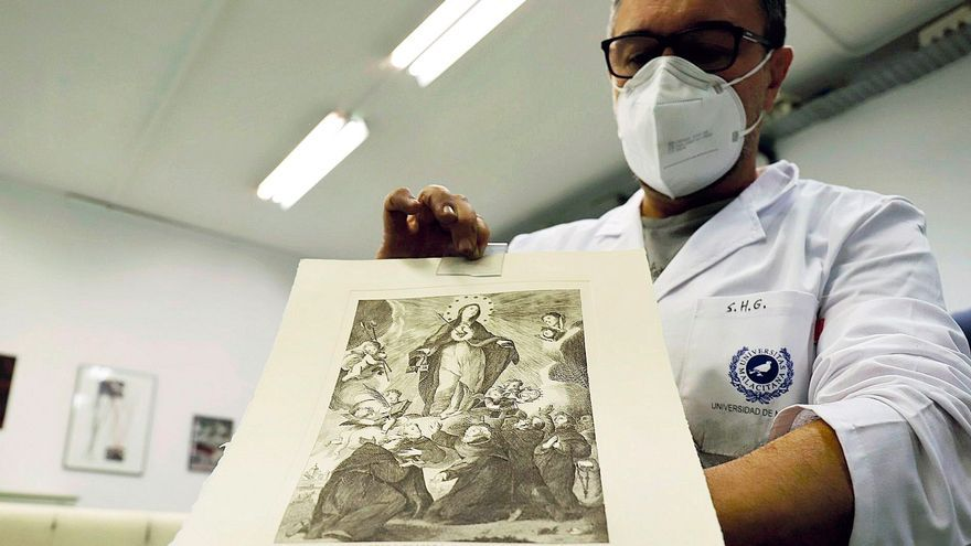 El arte de Fernando Ortiz renace en Málaga