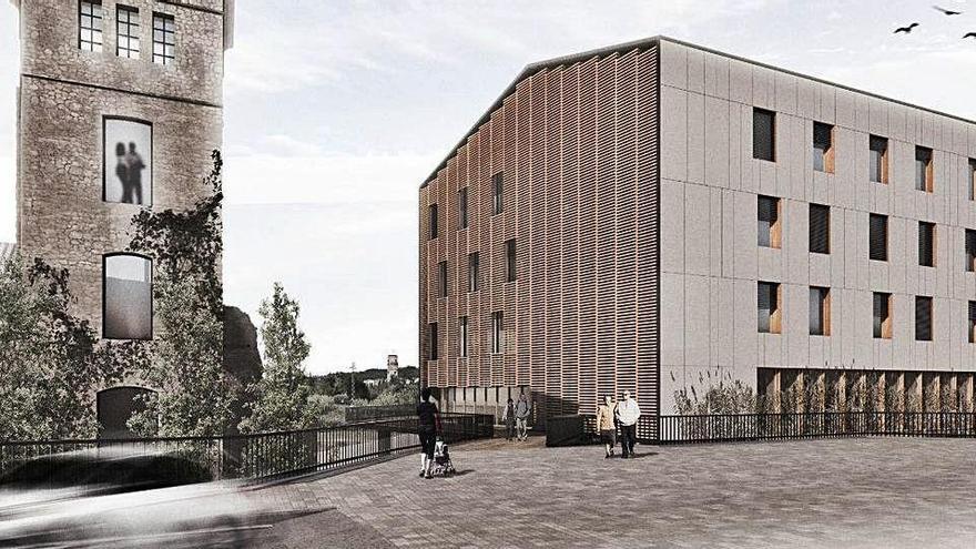 La proposta de fer la residència de Sallent a la Fàbrica Vella  podria ser definitiva