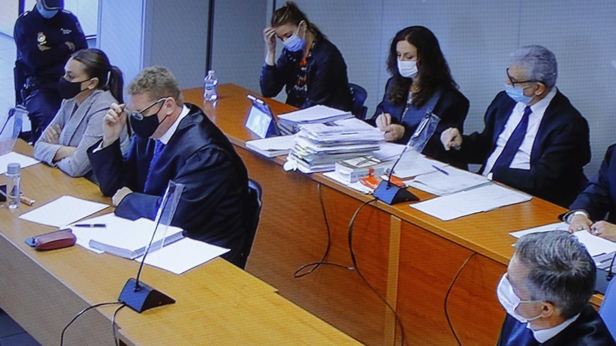 La segunda sesión del juicio del Caso Maje, en imágenes
