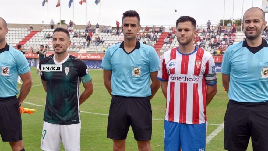 García Gómez, árbitro del partido del Córdoba CF contra el Tamaraceite