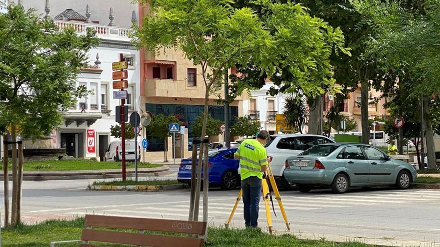 Comienzan las primeras actuaciones para remodelar la Plaza de Extremadura