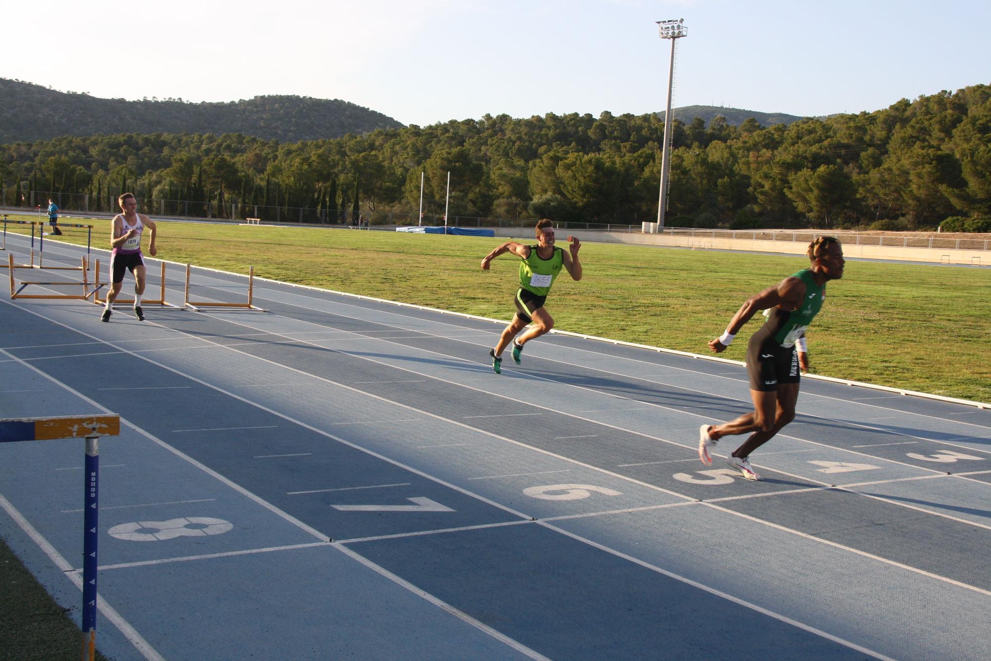 Los velocistas destacan en el control de pista en Magaluf